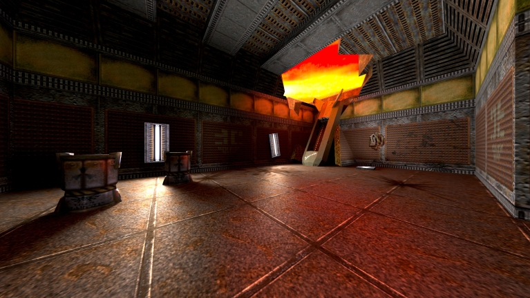 Path-traced Quake II